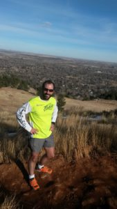 Boulder, Colorado mountain run