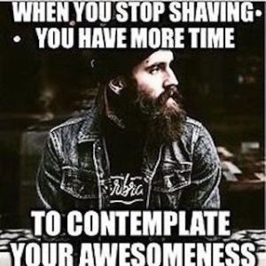 Save Time with a Beard