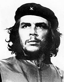 Che with a beard