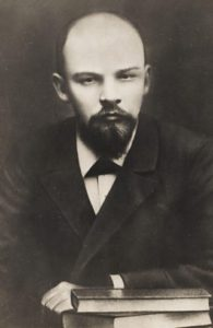 Lenin with a beard