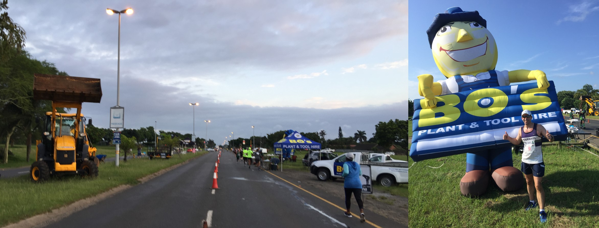 Hippo Marathon (Getting hot & sweaty in Richards Bay) - The Running Mann